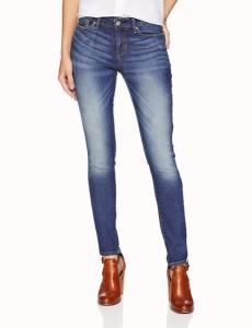 ファッション パンツ Silver Jeans Co.NEW Blue Womens Size 27X25 Crop Wide Leg Stretch Jeans Silver