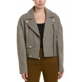 Tibi ティビ ファッション 衣類 Tibi Atticus Wool-Blend Moto Jacket
