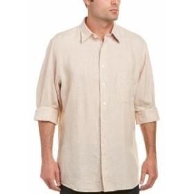 Mine マイン ファッション ドレスシューズ Mine Apparel Inc Washed Linen Woven Shirt M