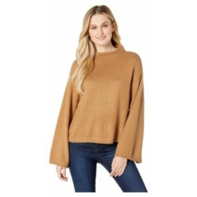 Anne Klein アンクライン 服 スウェット Mock Neck Bell Sleeve Sweater