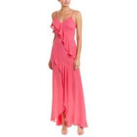 Parker パーカー ファッション ドレス Parker Black Silk Gown 4 Pink