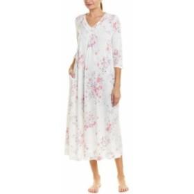 Carole Hochman キャロルホフマン ファッション ドレス Carole Hochman Womens Carol Hochman Pleated Nightgown M White