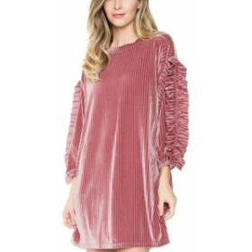 Milan  ファッション ドレス Sugarlips Milan Ruffle Trim Dress S