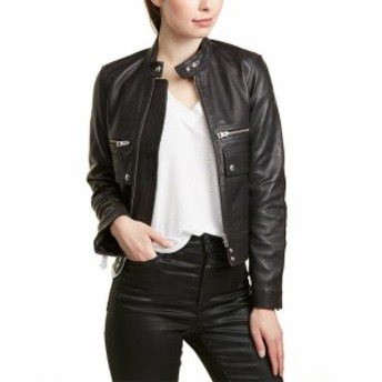 Zadig & Voltaire ザディグ&ヴォルテール ファッション 衣類 Zadig & Voltaire Love Cuir Spi Leather Jacket
