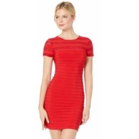 Adrianna Papell アドリアナパぺル ドレス 一般 A-Line Banded Mini Dress