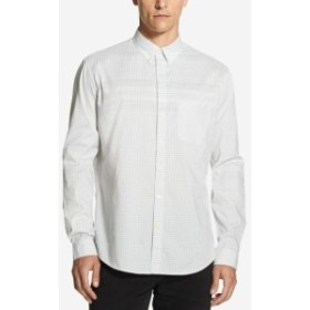 DKNY ダナキャランニューヨーク ファッション アウター DKNY Mens Shirt Gray Size XL Gingham Print Front Pocket Button Up