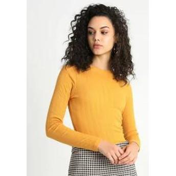 New Look レディースその他 New Look VERONICA CREW - Long sleeved top - dark yellow dark