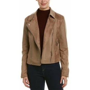 Vigoss ヴィゴス ファッション 衣類 Vigoss Mixed Media Moto Jacket