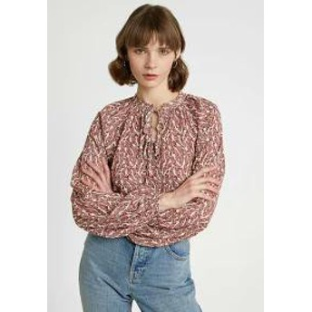Gina Tricot レディースその他 Gina Tricot JANA BLOUSE - Blouse - red/offwhite red/off