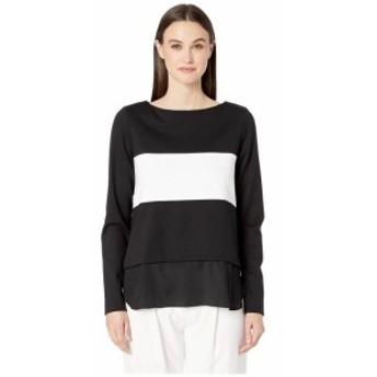 Nicole Miller ニコルミラー 服 スウェット Ponte Boat Neck Sweater