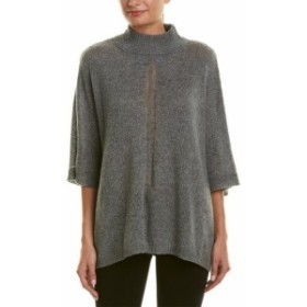 ファッション トップス Incashmere Oversized Cashmere Poncho S/M Grey