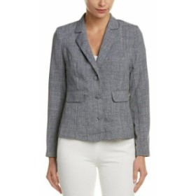 ファッション 衣類 Dioni Linen-Blend Jacket 8/M