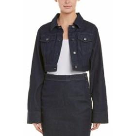Susana Monaco スサナモナコ ファッション フォーマル Susana Monaco Cropped Denim Jacket 10