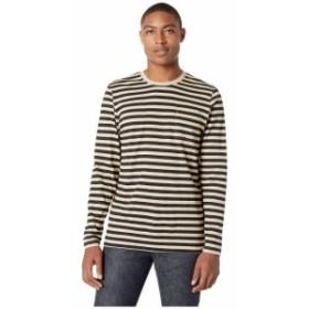 WeSC ウィーエスシー 服 一般 Makai Stripe Long Sleeve Shirt