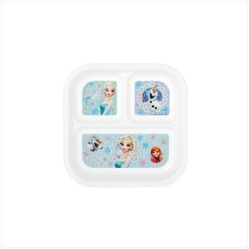 アナと雪の女王 キッズ プレート仕 切り皿 ディズニー キャラクター グッズ