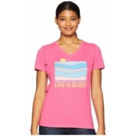 Life is Good ライフイズグッド 服 一般 Take Me To The Ocean Crusher Vee T-Shirt