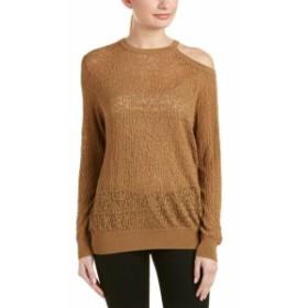 ファッション トップス Sandro Sepia Sweater