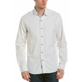 Heritage  ファッション ドレスシューズ Heritage By Report Mens Heritage Woven Shirt S White