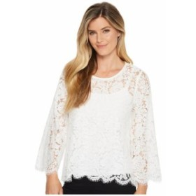 Karen Kane カレンケーン 服 一般 Flare Sleeve Scallop Lace Top