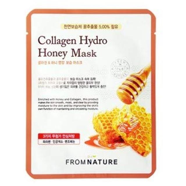 FROMNATURE フロムネイチャー コラーゲン ハイドロ ハニー マスク Collagen Hydro Honey Mask 【10枚セット】