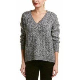 Vince ヴィンス ファッション トップス Vince Cable-Knit Wool & Cashmere-Blend Sweater