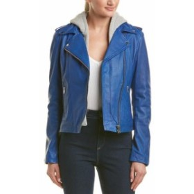 LAMARQUE ラマーク ファッション 衣類 Lamarque Hooded Leather Jacket