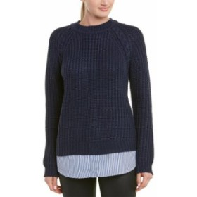 BB Dakota BB ダコタ ファッション トップス Bb Dakota Back At It Sweater S/4 Blue