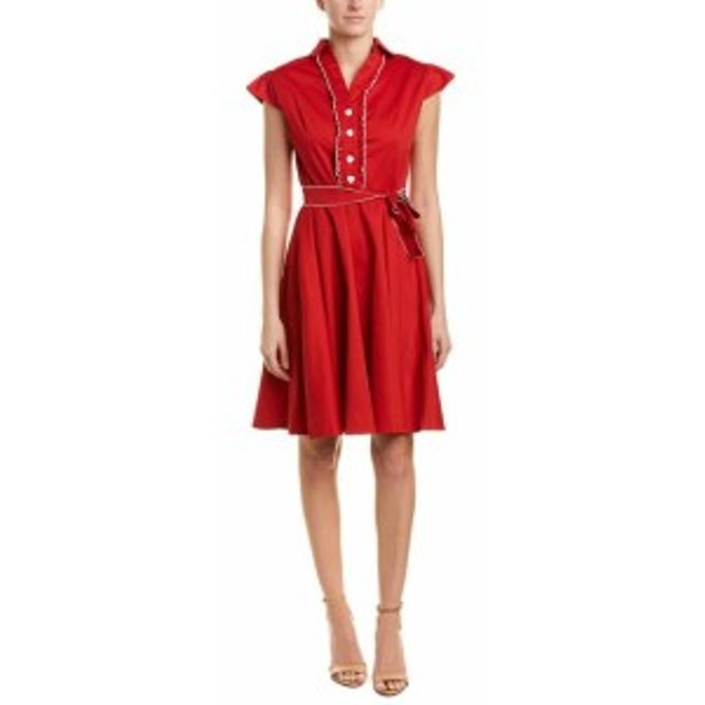Mike  ファッション ドレス Mike Is A-Line Dress 6 Red