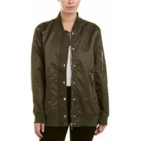 Blank NYC ブランクNYC ファッション 衣類 Blank Nyc Oversized Bomber Coat Xs Green