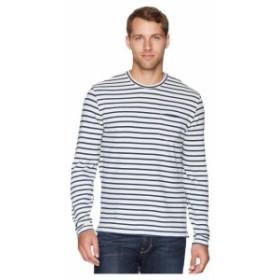 Lucky Brand ラッキーブランド 服 一般 Stripe Raglan Crew Neck Shirt