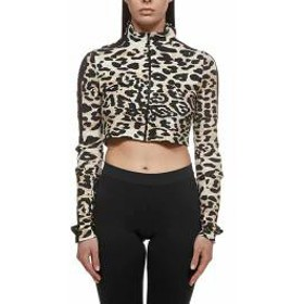 Paco Rabanne レディースその他 Paco Rabanne Leopard Cropped Top Maculato