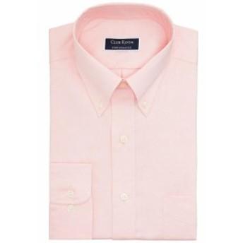 Pocket  ファッション ドレス Club Room Mens Pink Size 15 1/2 Front Pocket Regular Fit Dress Shirt
