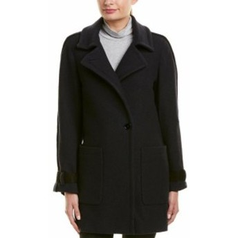 ファッション 衣類 Reiss Aysha Suede-Trim Wool Jacket