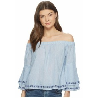 Lucky Brand ラッキーブランド 服 一般 Embroidered Off Shoulder Top