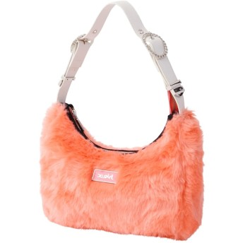 【エックスガール/X-girl】 FAUX FUR HAND BAG