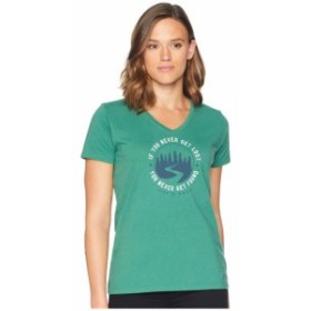 Life is Good ライフイズグッド 服 一般 Get Lost Get Found Crusher Vee T-Shirt