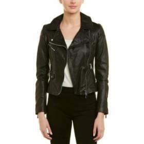 ファッション 衣類 Karen Millen Leather Jacket