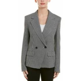 Blazer ブレザー ファッション 衣類 Escada Wool-Blend Blazer 40 Black