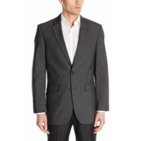 Blazer ブレザー ファッション フォーマル Haggar NEW Gray Mens Size 46 5 Pocket Notched Collar Two Button Blazer