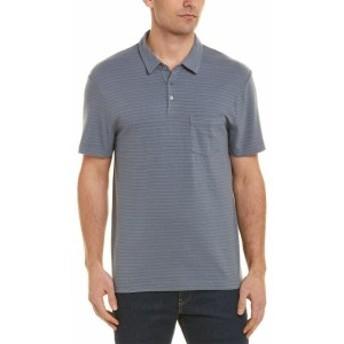 James Perse ジェームズパース ファッション トップス James Perse Pocket Polo Shirt 1 Grey