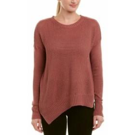 ファッション トップス Acrobat Asymmetric Linen-Blend Sweater