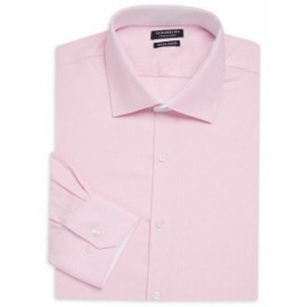TailorByrd テイラーバード ファッション ドレスシューズ Tailorbyrd Springfield Trim Fit Dress Shirt 15 32/33 Pink