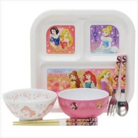 ディズニープリンセス グッズ 食器セット 子供用食器 6点セット ディズニー キャラクター