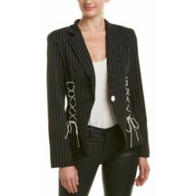 Blazer ブレザー ファッション フォーマル Do+Be Lace-Up Blazer S Black