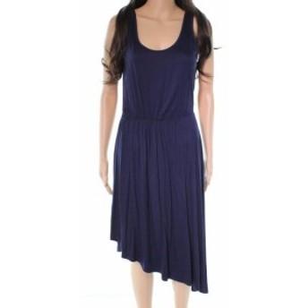 ファッション ドレス Socialite NEW Blue Scoop Neck Womens Size Medium M A-Line Dress