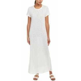 James Perse ジェームズパース ファッション ドレス James Perse Web Jersey Maxi Dress 0 White