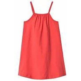 A Happy Brand キッズドレス A Happy Brand Red Gathered Tank Dress