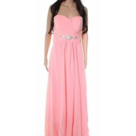 ファッション ドレス Thalia NEW Pink Sweetheart Womens Size 12 Bridesmaid Chiffon Gown
