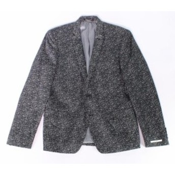 Blazer ブレザー ファッション フォーマル M 151 NEW Black White Mens Size Medium M Geometric Two Button Blazer