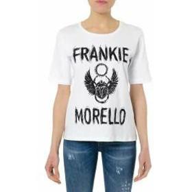 Frankie Morello レディースその他 Frankie Morello White Cotton T-shirt Basic